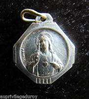 MEDAILLE SACRE COEUR de JESUS - VIRGO CARMELI..