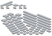 Lego - Bricksy's Bascis - Neues Hellgrau - G10 - Glatte Teile - Lightbluishgray