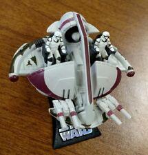 Star Wars Titanium Republic Swamp Speeder Clone Wars DieCast