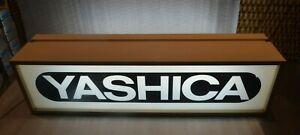 1990's Yashica Original Indoor Light Up Sign Lightbox