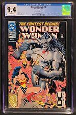 Wonder Woman #90 CGC 9.4, 1st Artemis, DC Universe Logo Variant, DCU Low Print