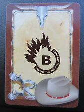 """Gemaco Playing Cards """"Bruno, The Brand That's Hot!"""" Cowboy Hat Spurs Long Horn"""