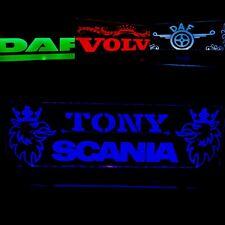 Truck Cabin Interior 12/24V Engraved Usb Led Light,7 color remote control,Truck