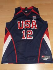 USA Basketball Dwight Howard 12 NBA AUTHENTIC Trikot Nike L Jersey WM Japan 2006