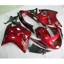 Red INJECTION Fairing Kit For Honda CBR1100XX Blackbird 1996-2007 98 99 00 01 02