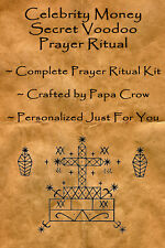 Celebrity Money Voodoo Prayer Ritual Kit Cash Swag Fashion Cars Success Famous