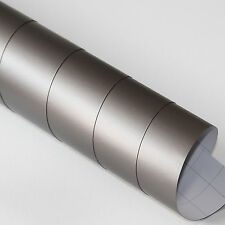 3x DIN A4 Wrapping Folie Matt Grau 21cm x 29,7cm Autofolie mit Luftkanälen