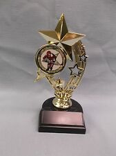all star hockey trophy weighted black base