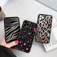 Luxury Leopard Zebra Bumper Phone Case Hard Cover For iPhone 12 11 X XS XR SE 8