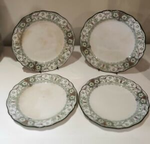 Royal Doulton Lulu 4 bread and butter plates