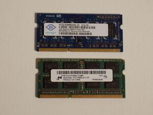 6GB 1X 4GB & 1X 2GB DDR3 1066 MHZ PC3 Memory RAM FOR  PC