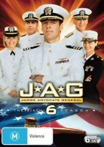 JAG Complete Sixth Season Series 6 TV Show Set DVD NEW David James Elliot Drama