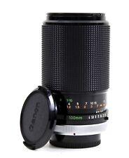 Canon Macro Fd-Nex 100mm 1:4 Sc