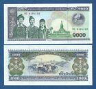LAOS // LAO -- 1000 KIP ( 2003 ) -- UNC -- PICK 32Ab .