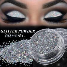 8a204028683 3g Sparkly Makeup Glitter Loose Powder Eyeshadow Silver Eye Shadow Pigment  0.2mm