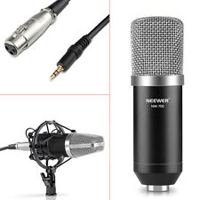 NW-700 Black Condenser Microphone+Shock Mount + Cable + Anti-wind Cap FX#18