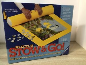 """Ravensburger Puzzle Stow & Go! Roll Up Storage Mat 46"""" x 26"""""""