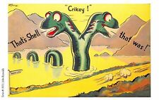Post Card PUBLICITE ADS SHELL OIL n71 ILLUSTRATION JOHN REYNOLDS