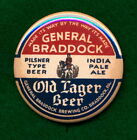 """Braddock STYLE Pa. Brewing Beer Advertising 2-1/4"""" RP *PIN* Old Lager India Pale"""