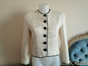Genny By Gianni Versace (made in Italy) RARE VINTAGE 80s Jacket Giacca Donna