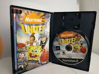 Nicktoons Unite Sony PlayStation 2 2005 COMPLETE with MANUAL *FREE SHIPPING* PS2