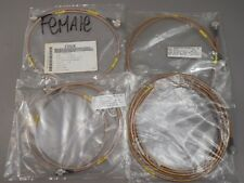 Coax Cable Assy Assortment Male N-Type to Male TNC Lot-of-4 NEW
