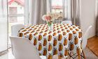 Runde Tischdecke Chic Party für Geburstag Hotdog Fröhlich Gekennzeichnet Essen