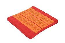 Thaikissen Sitzkissen 50x50 orange Sitz Bodenkissen Auflage Zabuton Stuhlkissen