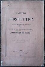 Rapport Prostitution Goulhot de Saint-Germain + Luxe effrêné des Femmes 1865