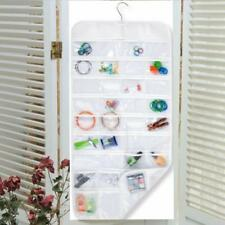 72 Pocket Jewelry Hanging Storage Organizer Pouch Bag Display Rack Holder Hanger