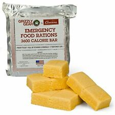 Emergency Food Rations - 3600 Calorie Bar - 3 Day Supply -