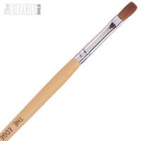 The Edge Nails No6 Kolinsky Sable FLAT Nail Brush For Acrylic & UV Gel Systems