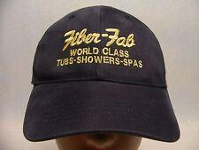 FIBER-FAB - WORLD CLASS TUBS-SHOWERS-SPAS - ADJUSTABLE BALL CAP HAT!