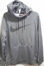 NIKE CHALK SWOOSH HOODIE PO MEN XXXL 839100-091 GRAY NWT THERMA-FIT