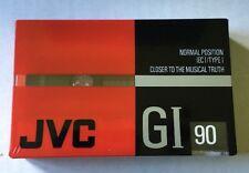 JVC GI 90 VICTOR SEALED BLANK AUDIO CASSETTE RECORDING TAPE