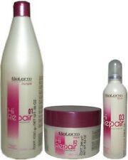 Salerm Hi Repair (1)Shampoo 1000ml -(1)Mask 250ml -(1)Finish 100ml - (Renewer Tr