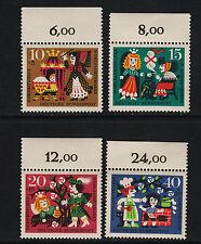 OPC 1964 Germany Sc#B400-B403 Mi#447-450 Numeral Margins MNH VF