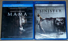 Horror Blu-ray Lot - Mama (Used) Sinister (New)