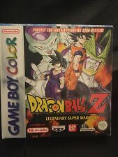 Gameboy Color Dragonball Z Legendary Super Warriors Boxed