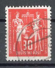 DDR 30 Pfg Postler Nr.244 Plattenfehler IV gest. € 350.-