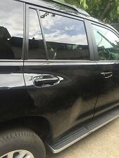 TOYOTA LAND CRUISER DRIVER SIDE REAR DOOR SHELL BLACK 2017 2.7 D4D BREAKING