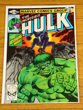 INCREDIBLE HULK #261 VOL1 MARVEL COMICS JULY 1981