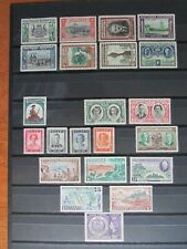 XL4907: Southern Rhodesia Mint Stamp Sets (1940 - 1953)