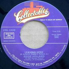 ** EDDIE HOLLAND LEAVING HERE MUCH COVERED MASSIVE MOTOWN MOD SCOOTERIST CLASSIC