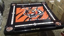Cincinnati Bengals Domino Table by Domino Tables by Art, add your name free!