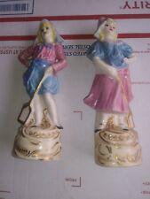 Vintage Dorcas 1944 Porcelain Pair