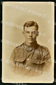 WW1 an R.A.M.C. Corporal with Military Medal Ribbon - Real Photo Postcard