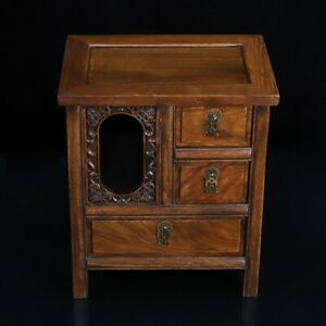 39 cm China natural Rosewood cabinet Wood cabinet drawer