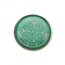 Glasgow Celtic Football Club FC Crest Lapel Pin Badge Official New