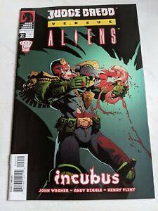 Judge Dredd Versus Aliens INCUBUS #2 April 2003 Dark Horse Comics